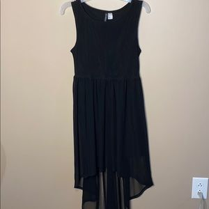 Divided high low dress